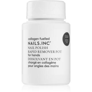 Nails Inc. Powered by Collagen odlakovač na nehty bez acetonu 60 ml