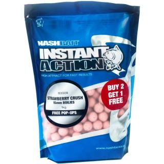 Nash Boilies Instant Action Strawberry Crush 1 kg, 20 mm