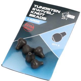 Nash Zarážka Na Obratlík Tungsten Swivel Beads Small