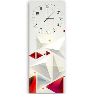 Nástěnné hodiny - Abstract 3 30x90 cm