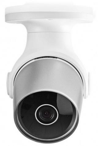 NEDIS IP Kamera/ venkovní/ IP65/ Wi-Fi/ 1080p/ PIR senzor/ MicroSD/ Android/ iOS/ adaptér/ bílá, WIFICO11CWT