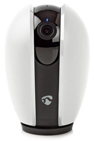 NEDIS IP Kamera/ Wi-Fi/ 720p/ micro USB/ MicroSD/ Android/ posun/náklon/ iOS/ Android/ bílo-šedá, WIFICI20GY