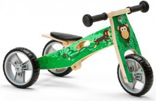 Nicko Dřevěné odrážedlo 2v1 mini - Opička - rozbaleno