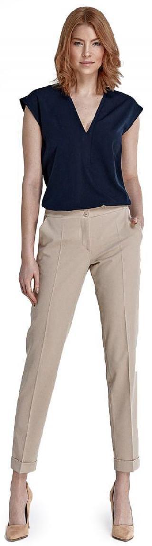 Nife dámské kalhoty 38 béžová - rozbaleno