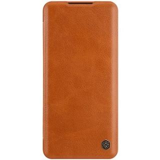Nillkin Qin kožené pouzdro pro Xiaomi Mi Note 10 Pro Brown