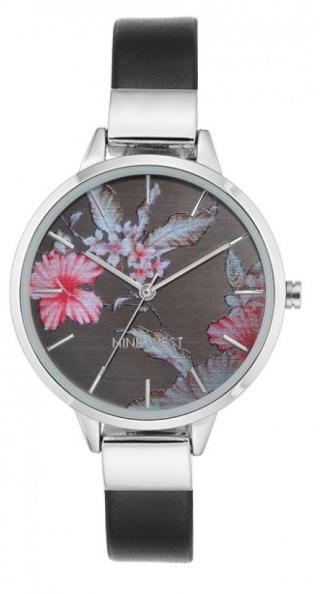 Nine West dámské hodinky NW/2045BKBK - rozbaleno