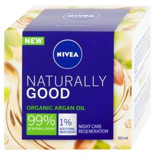 Nivea Regenerační noční krém Naturally Good  50 ml