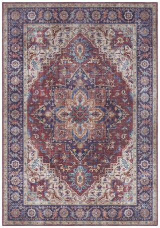 Nouristan - Hanse Home koberce Kusový koberec Asmar 104000 Plum/Red - 200x290 cm Vícebarevné