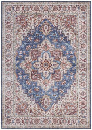 Nouristan - Hanse Home koberce Kusový koberec Asmar 104001 Jeans/Blue - 80x200 cm Vícebarevné