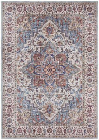Nouristan - Hanse Home koberce Kusový koberec Asmar 104002 Cyan/Blue - 200x290 cm Vícebarevné