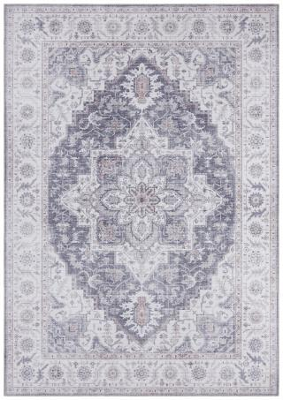 Nouristan - Hanse Home koberce Kusový koberec Asmar 104003 Mauve/Pink - 80x200 cm Vícebarevné