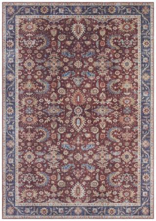 Nouristan - Hanse Home koberce Kusový koberec Asmar 104004 Bordeaux/Red - 80x200 cm Červená
