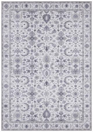 Nouristan - Hanse Home koberce Kusový koberec Asmar 104006 Platinum/Grey - 80x200 cm Šedá