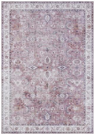 Nouristan - Hanse Home koberce Kusový koberec Asmar 104007 Raspberry/Red - 160x230 cm Červená