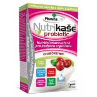 Nutrikaše probiotic cranberries 3x60 g