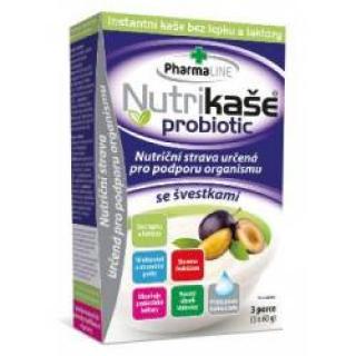 Nutrikaše probiotic se švestkami 3x60 g
