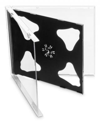 Obal Cover IT pro 2 CD, 10mm, 10ks/bal černý