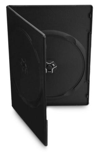 Obal Cover IT pro 2 DVD, 7mm slim, 10ks/bal černý