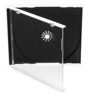 Obal Cover IT pro CD,10mm jewel, 10ks/bal černý