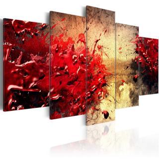 Obraz na plátně - Krvavá abstrakce