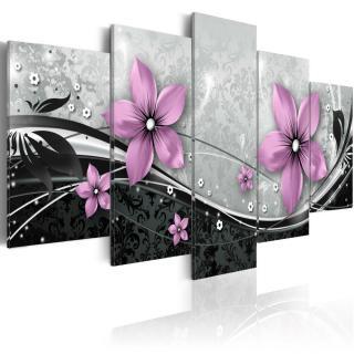 Obraz na plátně - Purple flower of night