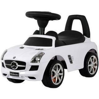 Odstrkovadlo Mercedes bílé