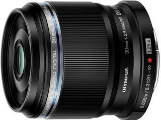 Olympus objektiv zuiko prem 30 mm f3.5 macro black