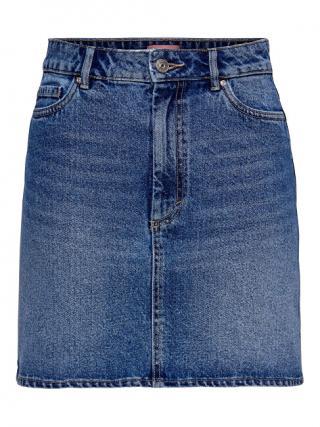 ONLY Dámská sukně ONLROSE LIFE ASHAPE SKIRT BB NAS2661 Medium Blue Denim 34