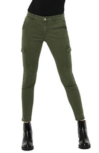 ONLY Dámské kalhoty ONLNEW COLE MIRINDA SKINNY ANK PANT PNT Grape Leaf XL