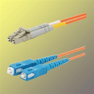 OPTIX LC/UPC-SC/UPC Optický patch cord 62,5/125 2m