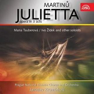 Orchestr Národního divadla v Praze, Jaroslav Krombholc – Martinů: Julietta . Lyrická opera o třech dějstvích CD