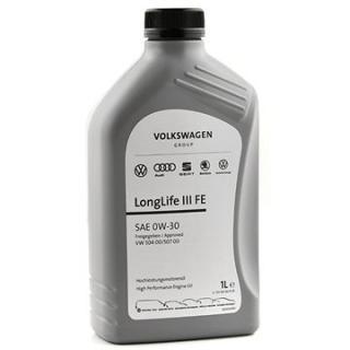 Originální motorový olej VW 0W30 LONGLIFE III FE; 1 L