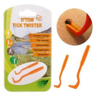 OTom háčky na klíšťata - Jedna sada - oranžová