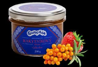 OVOCŇÁK Rakytníkový džem s jahodou 200g