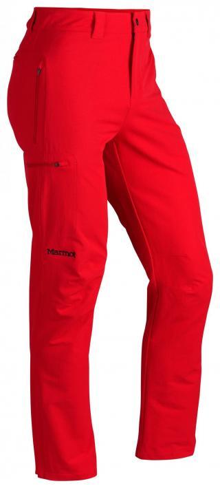 Pánské kalhoty Marmot Scree Team, červené