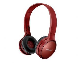 Panasonic RP-HF410BE bezdrátová sluchátka, červená - rozbaleno