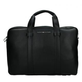 Pánská taška přes rameno Tommy Hilfiger Flat - černá