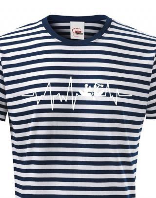 Pánské tričko Vodácký puls - ideální triko na vodu