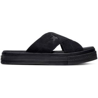 PANTOFLE CONVERSE One Star Sandal WMS - černá - EUR 38