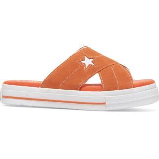PANTOFLE CONVERSE One Star Sandal WMS - oranžová - EUR 39