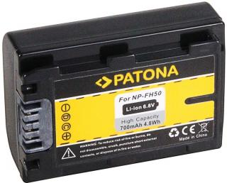 PATONA Baterie pro digitální kameru Sony NP-FH50 700mAh