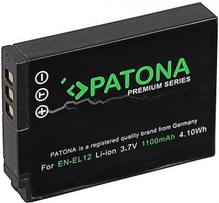 PATONA Baterie pro foto Nikon EN-EL12 1100mAh Li-Ion Premium