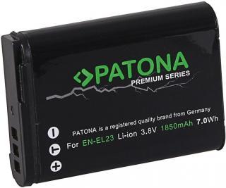 PATONA Baterie pro foto Nikon EN-EL23 1850mAh Li-Ion Premium