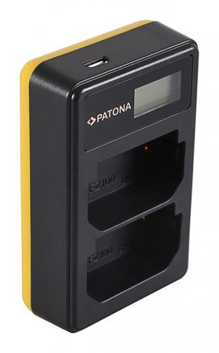 PATONA Nabíječka Foto Dual LCD Sony NP-FZ100 USB