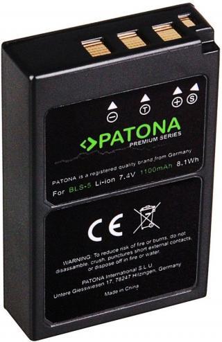 PATONA PATONA baterie pro foto Olympus BLS5 1100mAh Li-Ion Premium