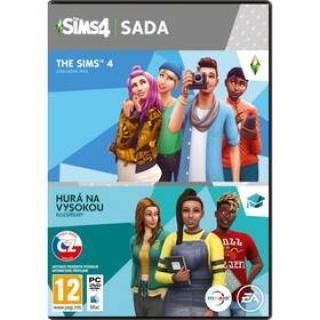PC The Sims 4 Bundle Základní hra   Hurá na vysokou 15. 11. 2019