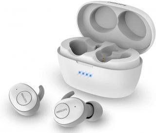 Philips SHB2505 bezdrátová sluchátka, bílá - zánovní