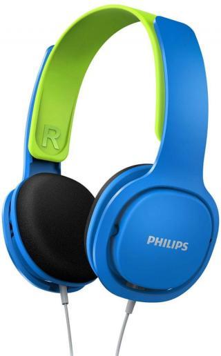 Philips SHK2000 sluchátka, modrá - zánovní