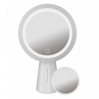 PLATINET LED kruhové kosmetické zrcátko 3W bílé s dotykovým senzorem