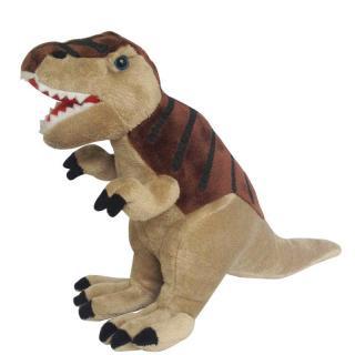 Plyšový Tyrannossurus Rex 30 cm hnědý